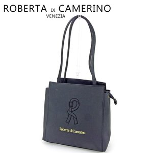 fc324d32b683 ロベルタディカメリーノ ROBERTA DI CAMERINO トートバッグ トート ショルダーバッグ レディース Rマーク 中古 人気 良品 P943