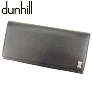 ■管理番号:Q507  【商品説明】 ダンヒル【dunhill】の 長財布です。 高級感のある上品な...