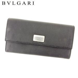 ■管理番号:T10325  【商品説明】 ブルガリ【BVLGARI】の  長財布です。 存在感のある...