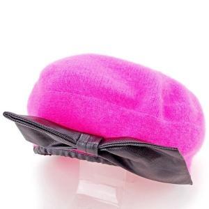 マークバイ マークジェイコブス MARC BY MARC JACOBS 帽子 ベレー帽 レディース リボン ニット|branddepot-tokyo