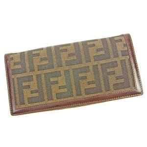 ■管理番号:T10936  【商品説明】 フェンディ【FENDI】の  長財布です。  ◆ランク 【...
