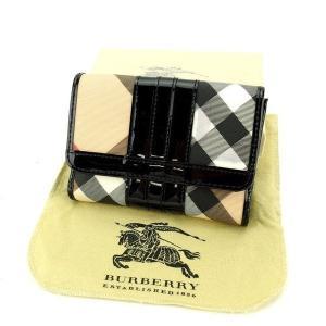 ■管理番号:T11038  【商品説明】 バーバリーの  Wホック財布です。 定番人気のチェック柄☆...