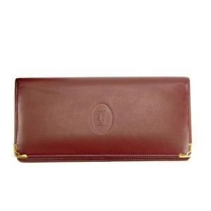 ■管理番号:T11306  【商品説明】 カルティエ【Cartier】の  長財布です。  ◆ランク...