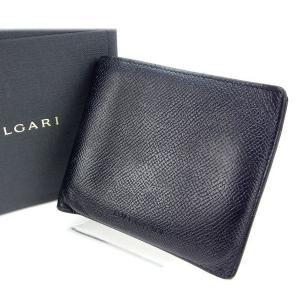 ■管理番号:T11707  【商品説明】 ブルガリ【BVLGARI】の  二つ折り財布です♪  ◆ラ...