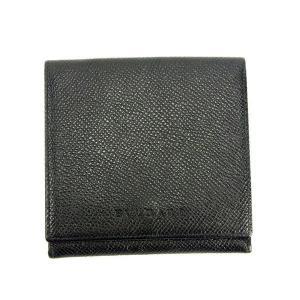■管理番号:T12430  【商品説明】 ブルガリ【BVLGARI】の  二つ折り財布です。  ◆ラ...