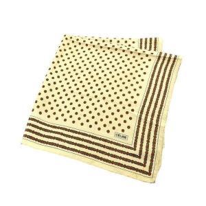 セリーヌ CELINE スカーフ 大判サイズ ファッションアイテム レディース フラワー柄 branddepot-tokyo