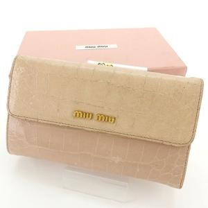 1c2b26644378 ミュウミュウ レディース長財布の商品一覧|ファッション 通販 - Yahoo ...