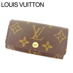 ルイヴィトン Louis Vuitton キーケース 4連キーケース レディース ミュルティクレ4 M62631 モノグラム|branddepot-tokyo