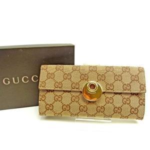■管理番号:T13389  【商品説明】 グッチ【Gucci】の  長財布です。 Wホックで札入れと...