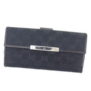 ■管理番号:T13392  【商品説明】 グッチ【GUCCI】の  長財布です。 定番人気のGGキャ...
