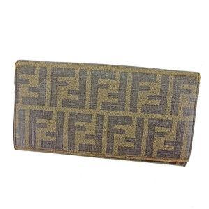 ■管理番号:T13570  【商品説明】 フェンディ【FENDI】の  長財布です。 定番人気のズッ...