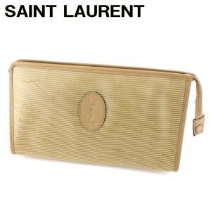 ■管理番号:T14315  【商品説明】 イヴサンローランの 「ロゴモチーフ」 セカンドバッグです♪...