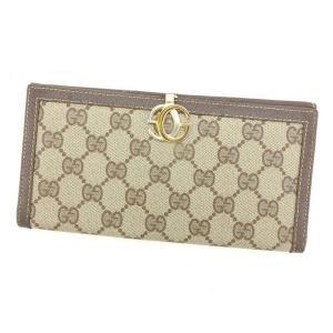 ■管理番号:T14701  【商品説明】 グッチの  長財布です。 定番人気のGGプラス☆厚みのない...
