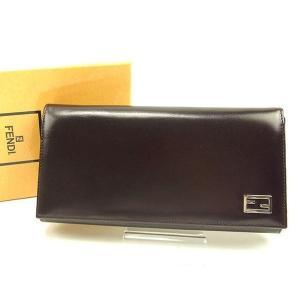 ■管理番号:T14837  【商品説明】 フェンディ【FENDI】の  長財布です。 ブランドの象徴...