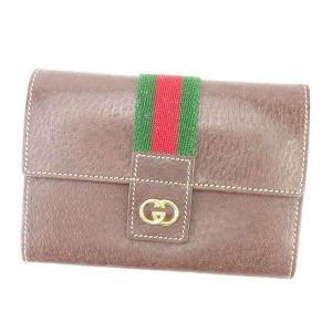 02108bec080a グッチ GUCCI 三つ折り財布 がま口財布 メンズ可 オールドグッチ インターロッキングG