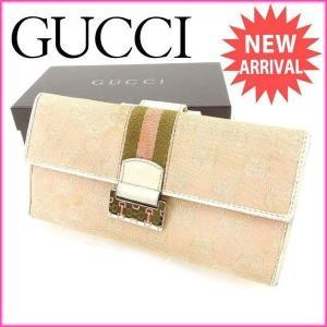 ■管理番号:T15276  【商品説明】 グッチ【GUCCI】の  長財布です♪  ◆ランク 【6】...