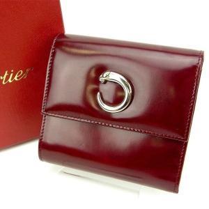 ■管理番号:T15391  【商品説明】 カルティエ【Cartier】の  三つ折り財布です♪  ◆...