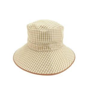 エルメス HERMES 帽子 ハット レディース チェック|branddepot-tokyo