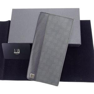 ■管理番号:T15488  【商品説明】 ダンヒルの 「ロゴプレート付き」 長財布です♪ 定番人気の...