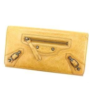 ■管理番号:T15739  【商品説明】 バレンシアガの  長財布です。 定番人気のザマネー☆収納力...