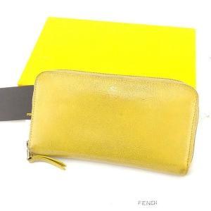■管理番号:T16069  【商品説明】 フェンディ【FENDI】の  ラウンドファスナー財布です。...