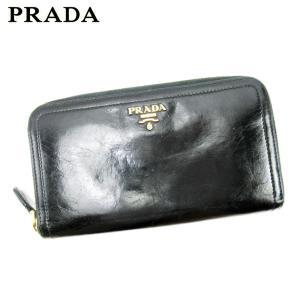 ■管理番号:T17196  【商品説明】 プラダ【PRADA】の 長財布です。 シンプルなロゴ入りデ...
