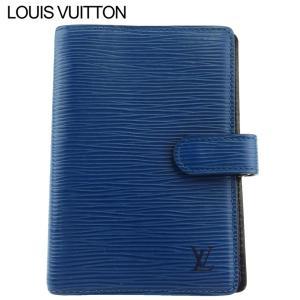 ルイ ヴィトン 手帳カバー システム手帳 レディース メンズ アジェンダPM R20055 エピ Louis Vuitton 中古