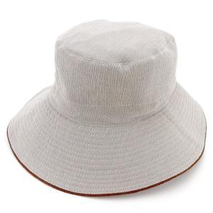 エルメス Hermes 帽子 ハット グレー ブラウン レディース メンズ 中古|branddepot-tokyo