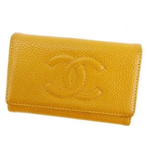 7982fef4b190 シャネル Chanel キーケース 6連 ココマーク キャメル ゴールド レディース メンズ 中古 Key Case