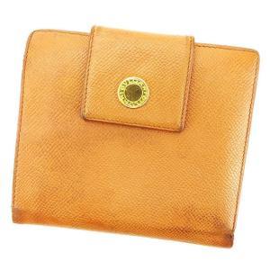 ブルガリ 二つ折り 財布  ブルガリブルガリ BVLGARI 中古