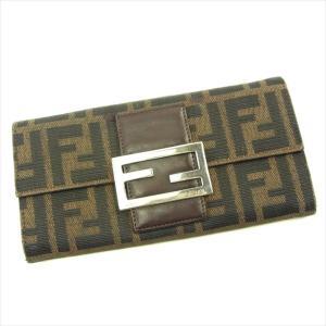 ■管理番号:T4713 【商品説明】 フェンディの 「FFプレート付き」 長財布です。 定番人気のズ...