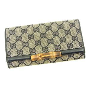 ■管理番号:T4723 【商品説明】 グッチ【GUCCI】の 「バンブー」 長財布です。 定番人気の...