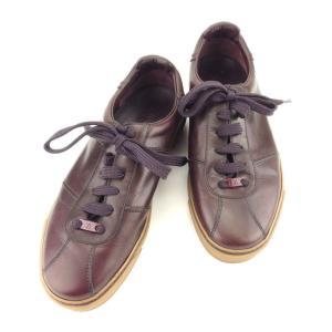 ルイ ヴィトン スニーカー シューズ 靴 ♯5 ローカット LVプレート Louis Vuitton...