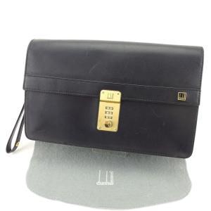 ■管理番号:T5074 【商品説明】 ダンヒル【dunhill】の クラッチバッグです。 定番人気の...