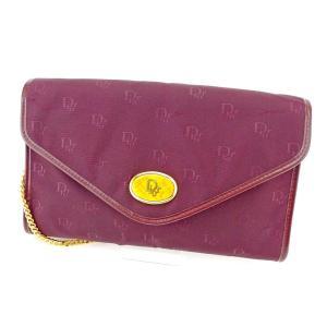 ■管理番号:T5464 【商品説明】 ディオール【Dior】の  ショルダーバッグです。 オシャレな...