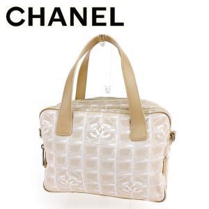 13182a212feb シャネル Chanel バッグ ハンドバッグ ニュートラベルライン ベージュ レディース 中古 Bag