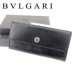■管理番号:T6848 【商品説明】 ブルガリ【BVLGARI】の  長財布です。 シンプルで上品な...