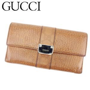 ■管理番号:T6874 【商品説明】 グッチ【GUCCI】の 長財布です。 高級感のあるグッチシマラ...