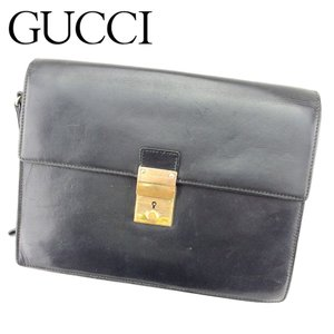 b36314abf238 グッチ Gucci バッグ クラッチバッグ ブラック レディース メンズ 中古 Bag