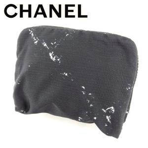 68ed53c4af6a シャネル Chanel コインケース 旧トラベルライン ブラック ホワイト 白 レディース メンズ 中古