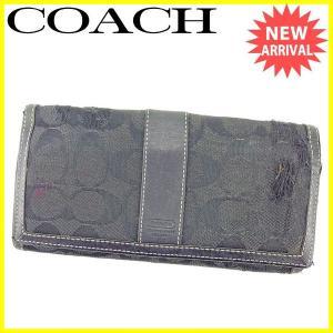 ■管理番号:T727 【商品説明】 コーチ【COACH】の  ?ZIP長財布です。 男女ともにお使い...