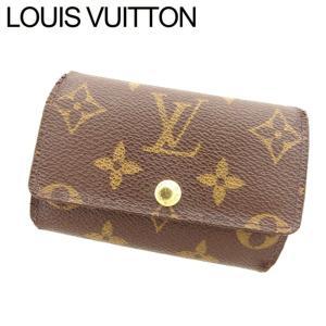 ルイ ヴィトン Louis Vuitton キーケース 6連キーケース メンズ可 ミュルティクレ6 M62630 モノグラム 訳あり セール|branddepot-tokyo