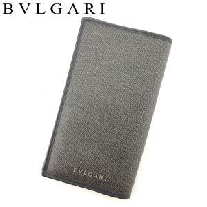 ■管理番号:T7671 【商品説明】 ブルガリの 長財布です。 高級感のあるシンプルなデザイン☆収納...