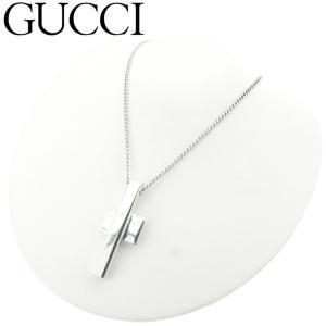 ■管理番号:T8015  【商品説明】 グッチ【GUCCI】の  ネックレスです。 人気のクロスデザ...