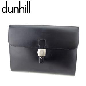 ■管理番号:T8237  【商品説明】 ダンヒル【dunhill】の  クラッチバッグです。 高級感...
