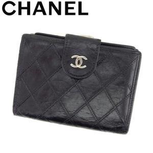 ■管理番号:T8266  【商品説明】 シャネル【CHANEL】の 「ヴィンテージ」 がま口財布です...