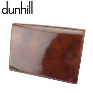 ■管理番号:T8670  【商品説明】 ダンヒル【dunhill】の  クラッチバッグです。 艶やか...