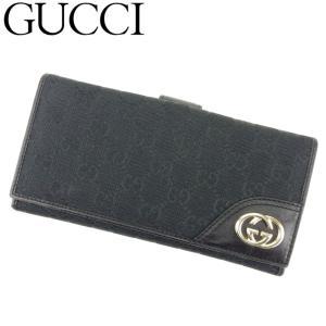 ■管理番号:T8677  【商品説明】 グッチ【GUCCI】の 「ニューブリット」 長財布です。 定...