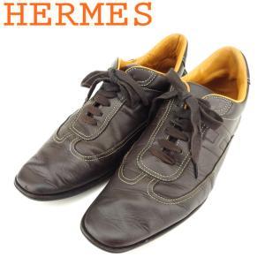 ■管理番号:T8696  【商品説明】 エルメス【HERMES】の 「40ハーフサイズ」 スニーカー...