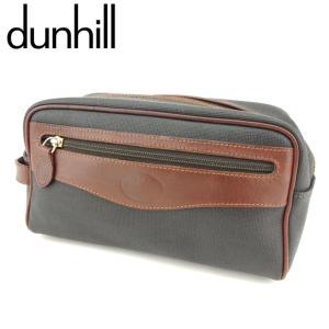 ■管理番号:T8709  【商品説明】 ダンヒル【dunhill】の  クラッチバッグです。 オシャ...